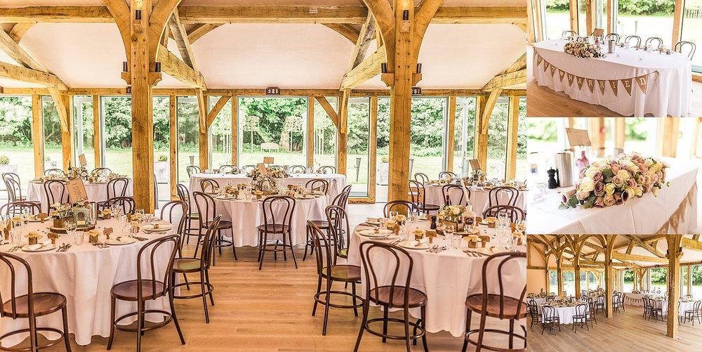 beautiful reception venue Hazel Gap Barn