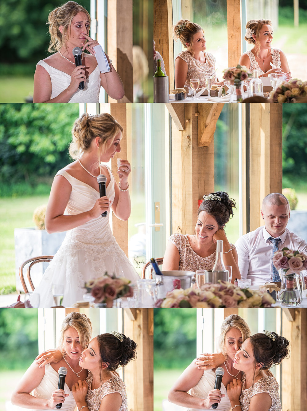 tearful warming speech by bride to her bride