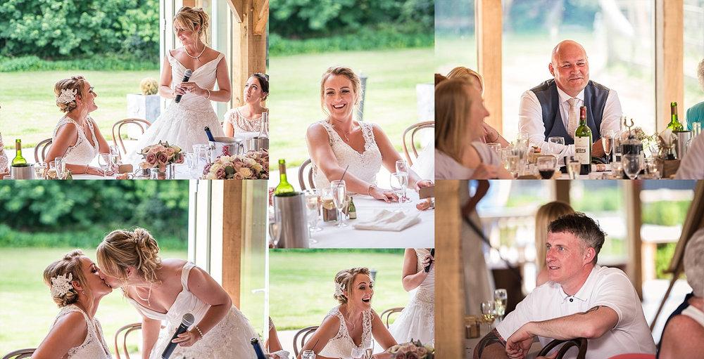 brides speeches lesbian wedding
