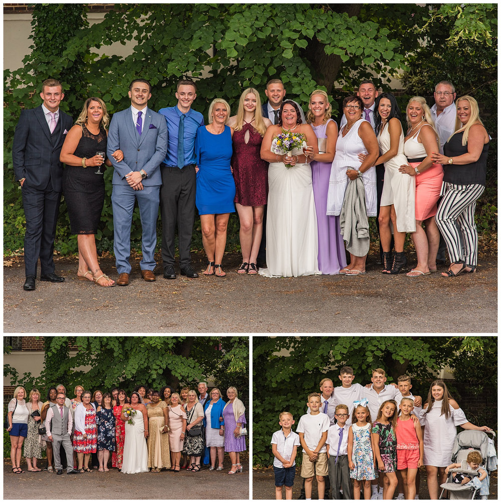 Group Photos | Surbiton Wedding | Glenmore House