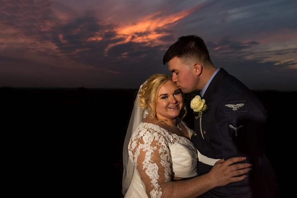 """Katie and Brendan, Richmond Hill Hotel, Surrey - """"Alex photographed our wedding in November 2017. We found Alex through a wedding group on Facebook, being local to us and seeing his work, we knew it was an immediate match. Alex was truly unbelievable and I cannot recommend him enough. From the initial consultation to the day it self, he has been diligent, attentive and best of all, fun! All our guests commented on how good he was - got all our shots that we requested but we barely knew we were being photographed the whole day. We received our images in a good time frame, knowing that care and attention had been taken in every single one of them. Even the aftercare has been truly superb. I would 100% recommend him to anyone! Thanks again Alex."""