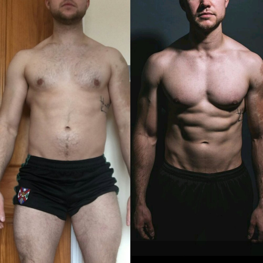 - The main aim with Conleth (owner of Kaizen Strength Gym) was to get him to lose as much fat as possible without him sacrificing his training, busy lifestyle and Friday night Chinese food.As you can see he clearly accomplished that, and ate Chinese food every Friday night.