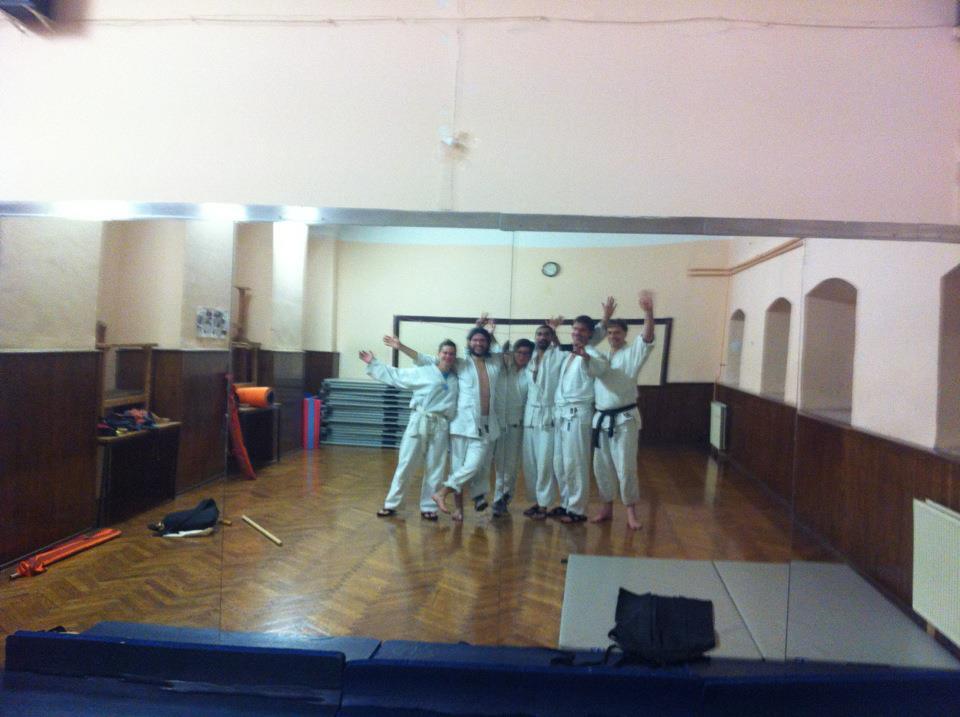 Zadnji trening v stari stavbi ND, 15. junij 2012