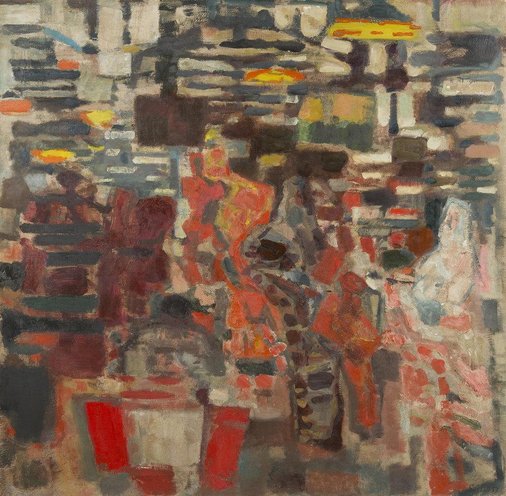 """Саша Гарбель """"Les Halles de Paris"""", 1957 год"""