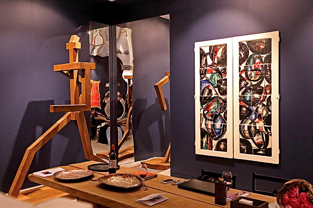 Стенд галереи «Палисандр». Фото: Екатерина Вагнер