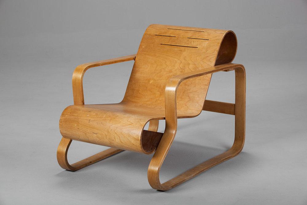 Алвар Аалто. Кресло модели 41. 1932