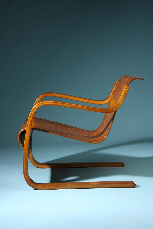 Алвар Аалто. Кресло модели 31. 1932