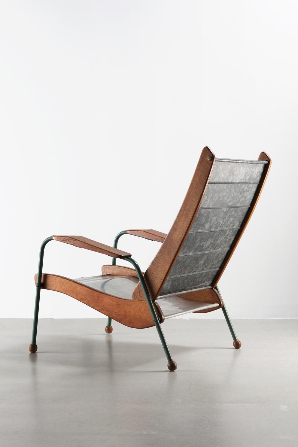 Жан Пруве. Кресло 350. 1948-52