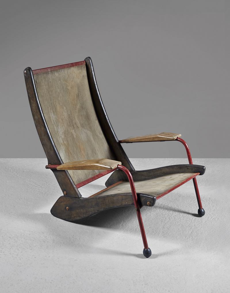 Жан Пруве. Кресло FV 22. 1948
