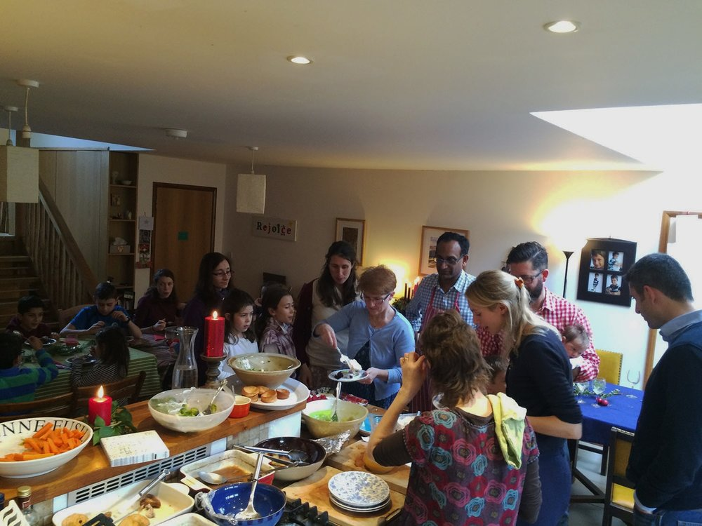 "''Celebrate@home gives my family and me a great opportunity to spend time with other Catholics and to grow in our faith""  – Nick -"