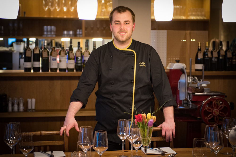 CHRISTIAN VON BURG I Chef de cuisine
