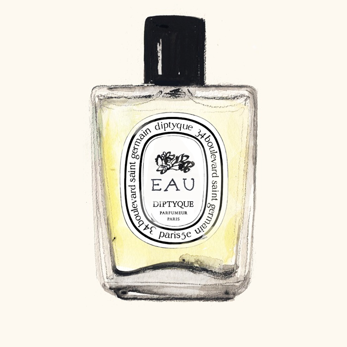 Illustration of Eau De Perfume Bottle