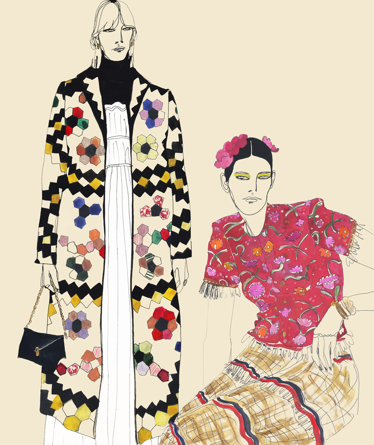 Women fashion illustration