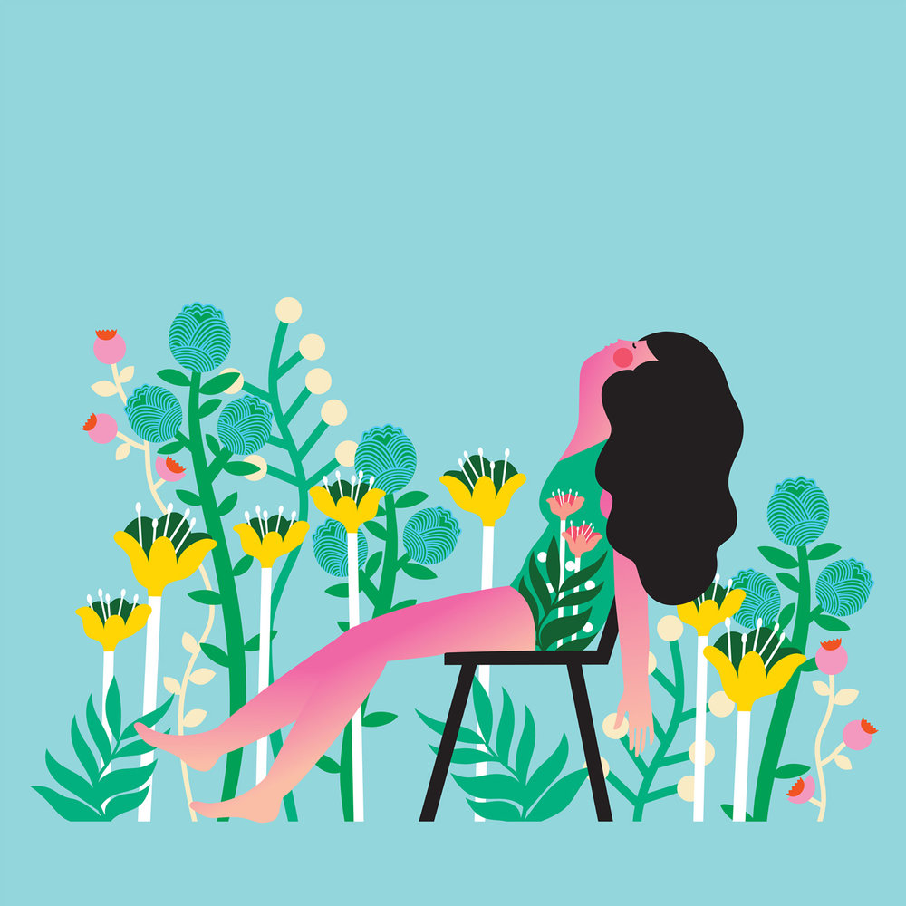 Vector Illustration By Kate Mockford