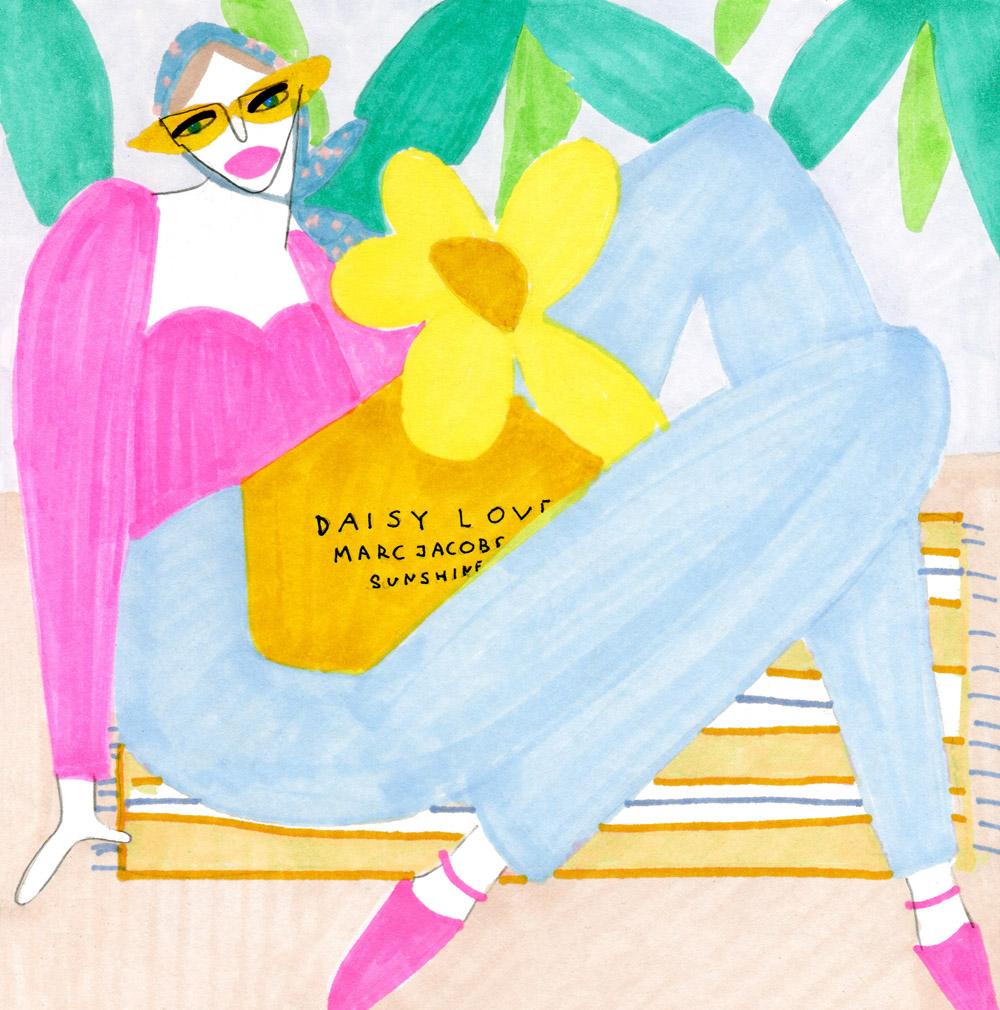 pink cool girl loves daisy love.jpg