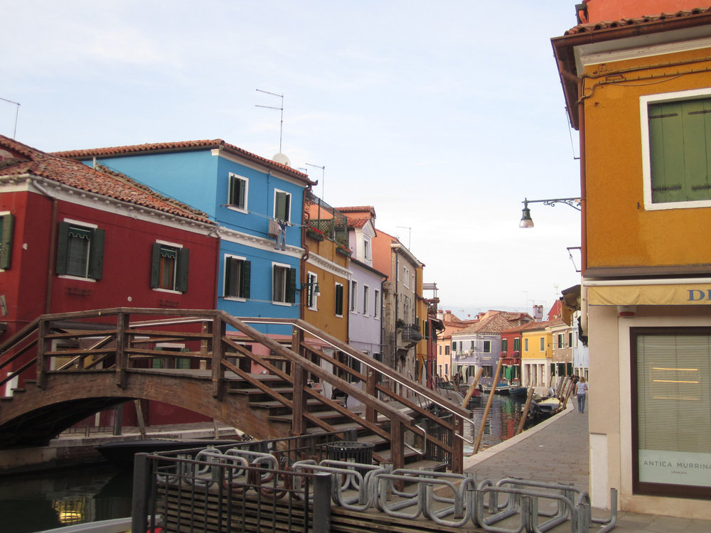 This is Burano, gorgeous isn't it?