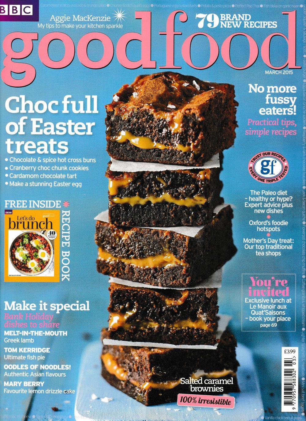 Good Food – Peanut Butter Brownies — Jane Hornby