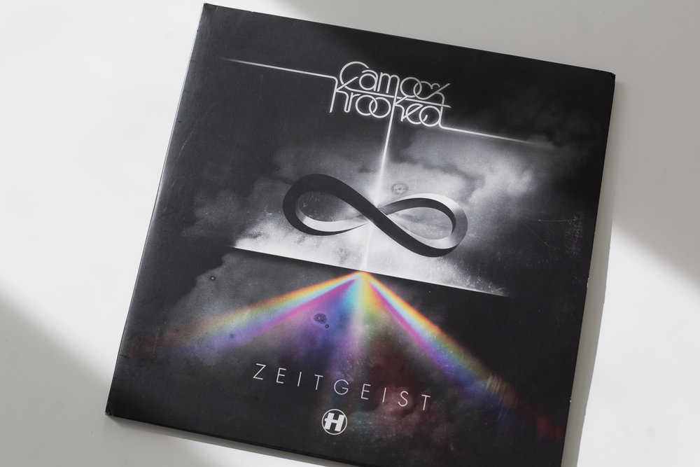 Camo & Krooked - Zeitgeist LP [Hospital Records]; Design by d3maproductions