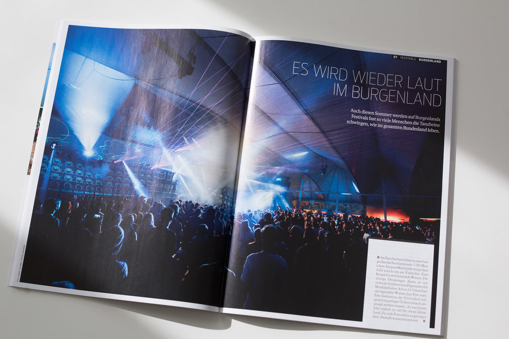 Nu Forms Festival 2016 (published in Kurier Lifestyle)