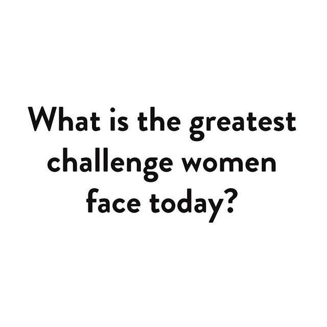 What is the greatest challenge women face today? Tell your story by sending a video to: submit@ourstoriesourselves.us or posting to your page and tagging @ourstoriesourselves / #ourstoriesourselves.  Please keep submissions to one minute or less, and check other submission tips on our site! We are still happily accepting responses to our other questions. #ourstoriesourselves #tellyourstory #thegreatest
