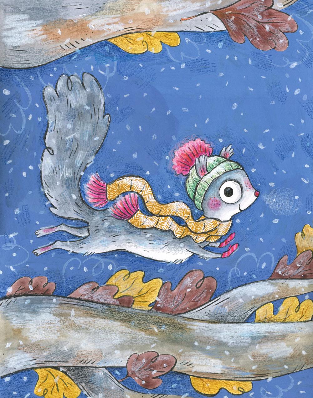 "Feb. 2018 ""Illustrating Children's Books"" e-course homework, cover re-designed"