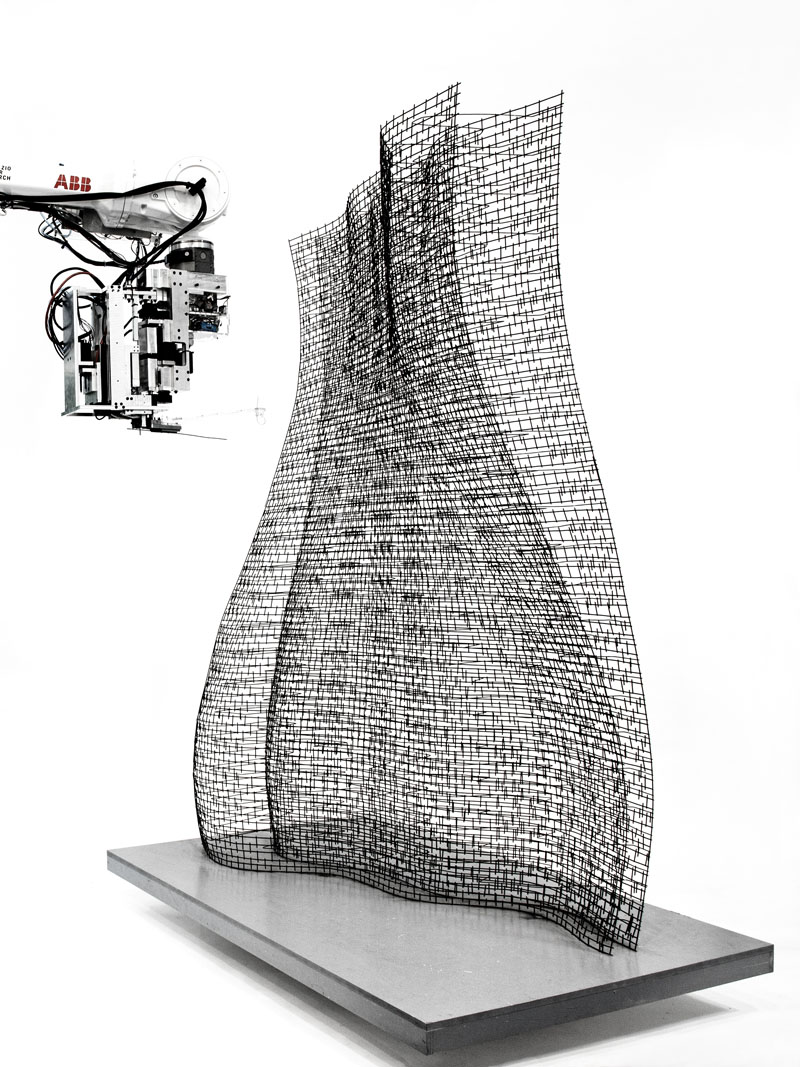Work by Gramazio Kohler Research, ETH Zurich. photo/ provided