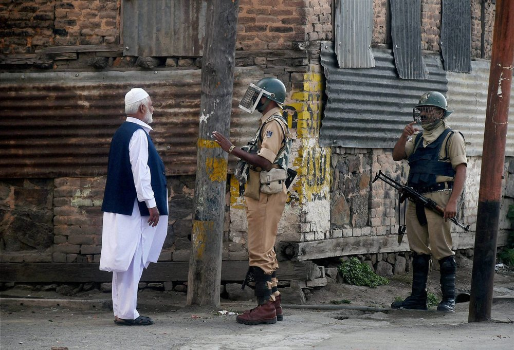 Week Of Unrest In Kashmir Signals A Shift