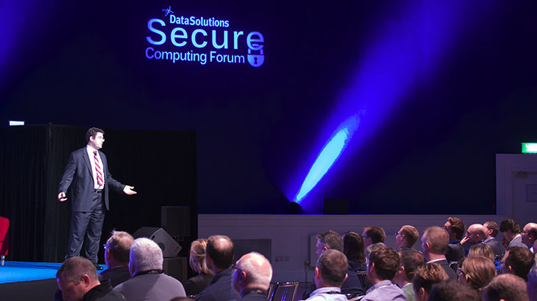 Daniel B Garrie at Secure Computing Forum 2016 b.jpg