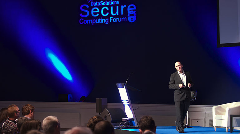 Garry Connolly at Secure Computing Forum 2016 b.jpg