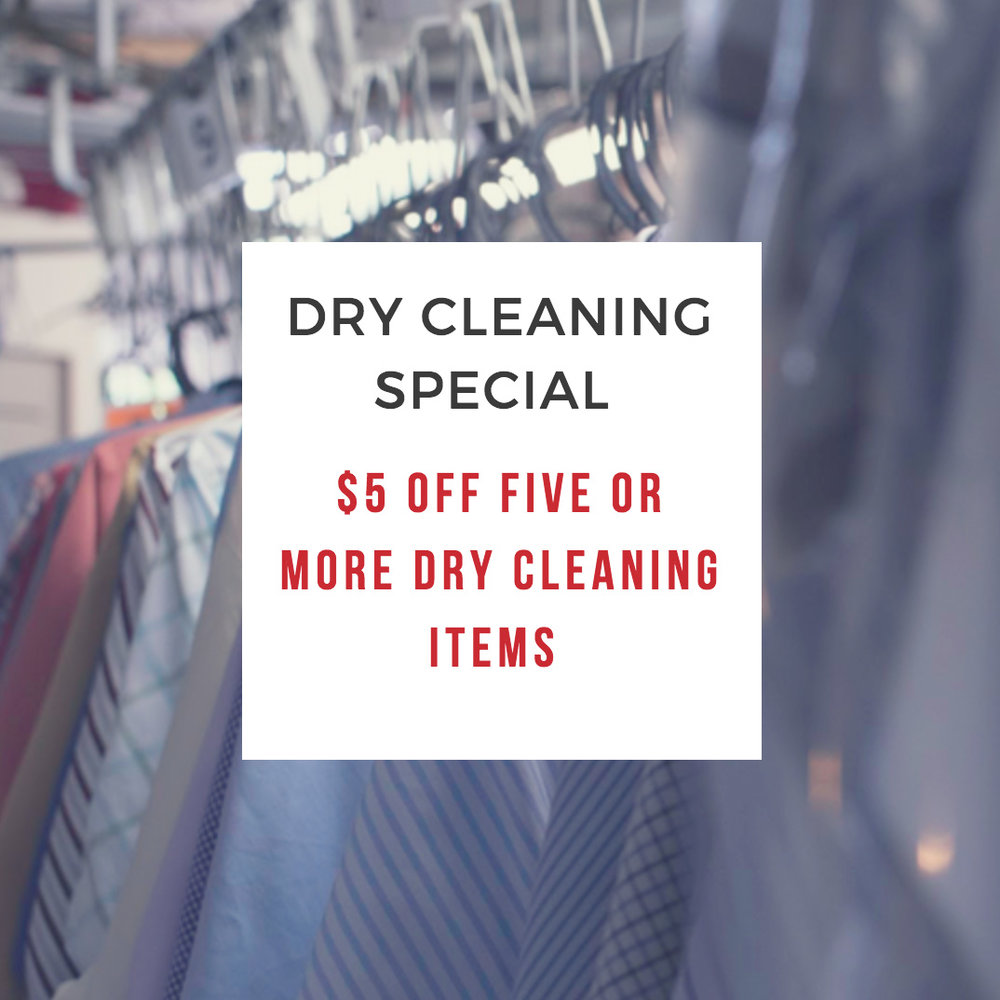 Metro Dry Cleaning Specials Cranberry