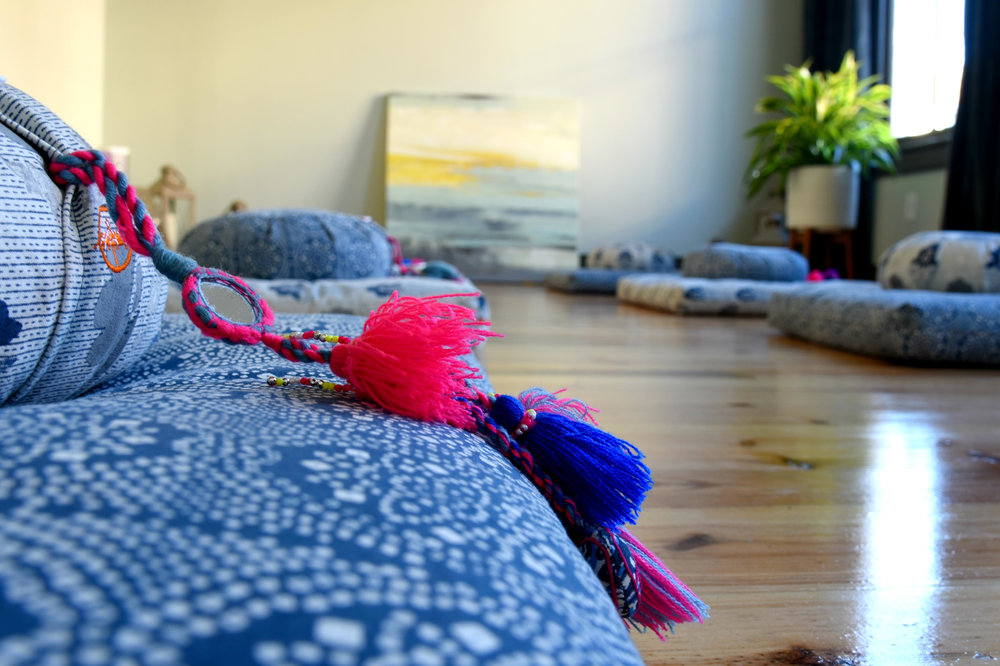 be still...just be   CHARLESTON'S FIRST MEDITATION STUDIO   reserve your cushion