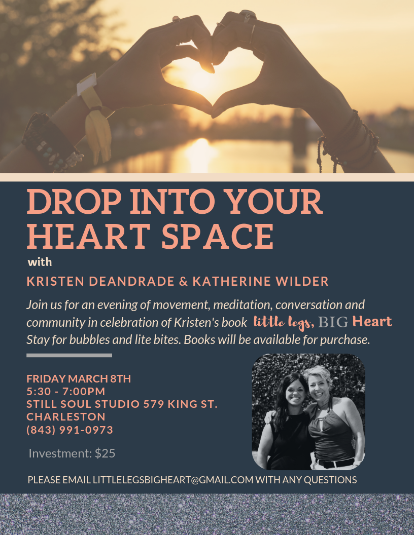 Drop Into Your Heart Space with Kristen Deandrade and
