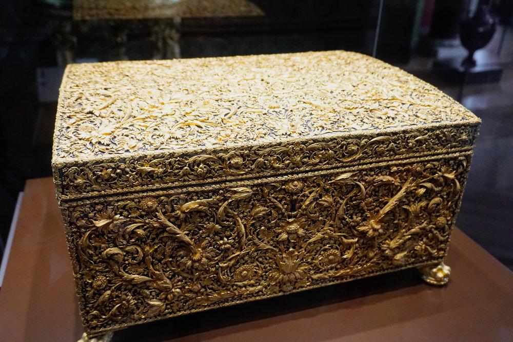 Louis XIV's gold chest