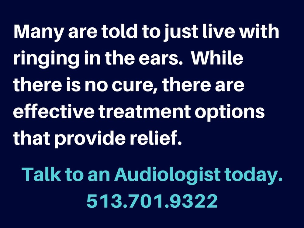 Don't WaitRinging in the ears can be caused by hearing loss or other medical issues.Talk to an Audiologist today.jpg