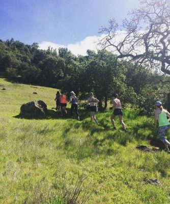 We ran up ALL the hills in Sonoma with our EMPOWER Retreaters…..