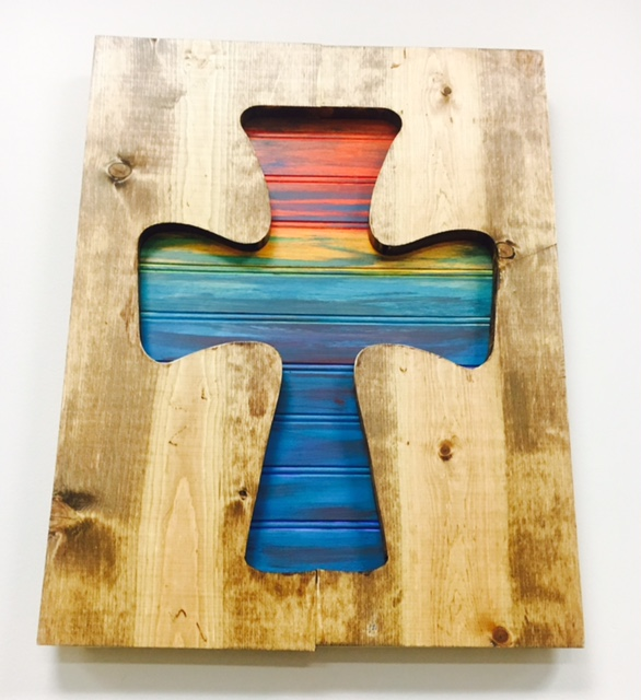Shaped Pallet - $55.00