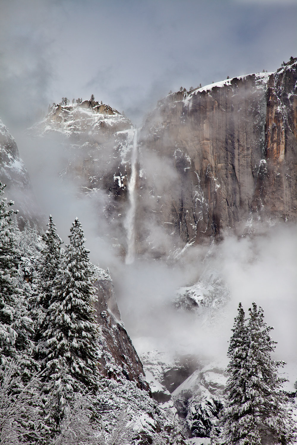 Yosemite Falls Winter (7294)