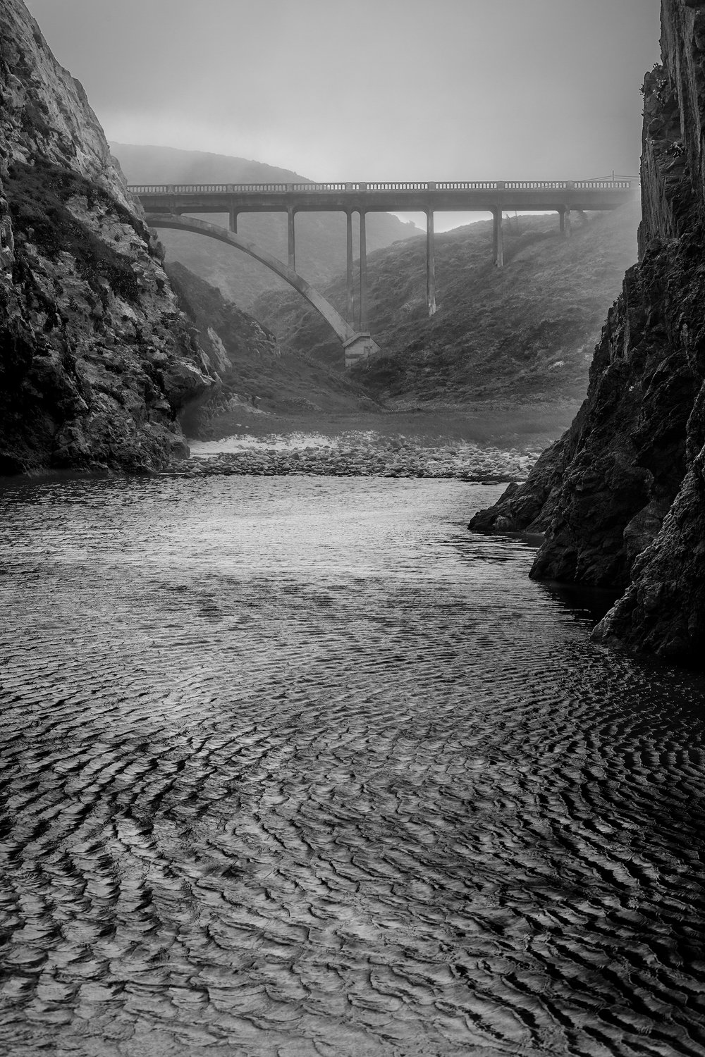 Garrapata Creek Bridge - Big Sur (3197)