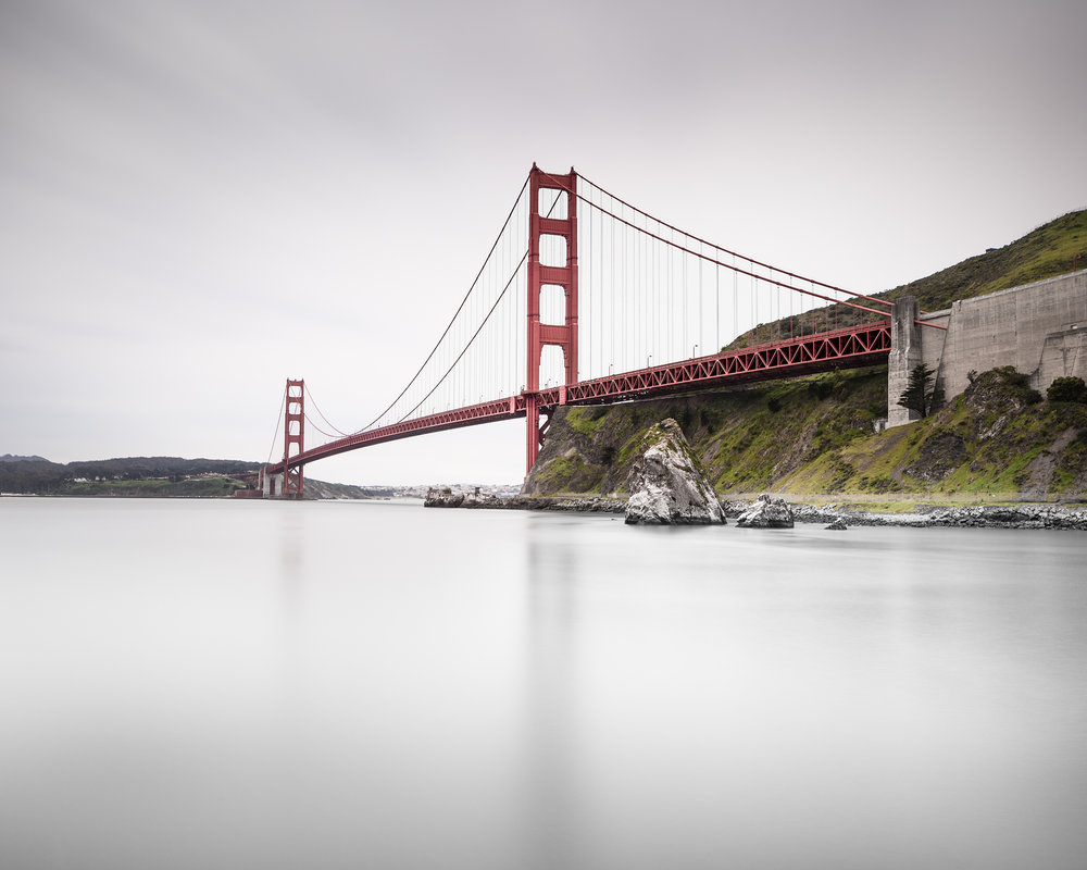 Golden Gate Bridge Study - San Francisco (5302)