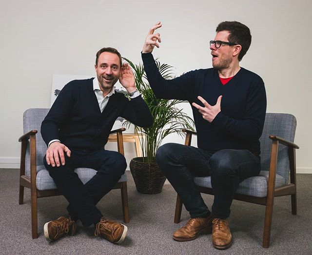 New Sales Acceleration Show, with Mark Herman from @sympl.be . Very interesting episode about recruiting so called 'customer facing' profiles, like sales guys, customer service etc. Go check it out by clicking on the link in our bio! . Photos are getting funnier week after week, don't you think? 😁