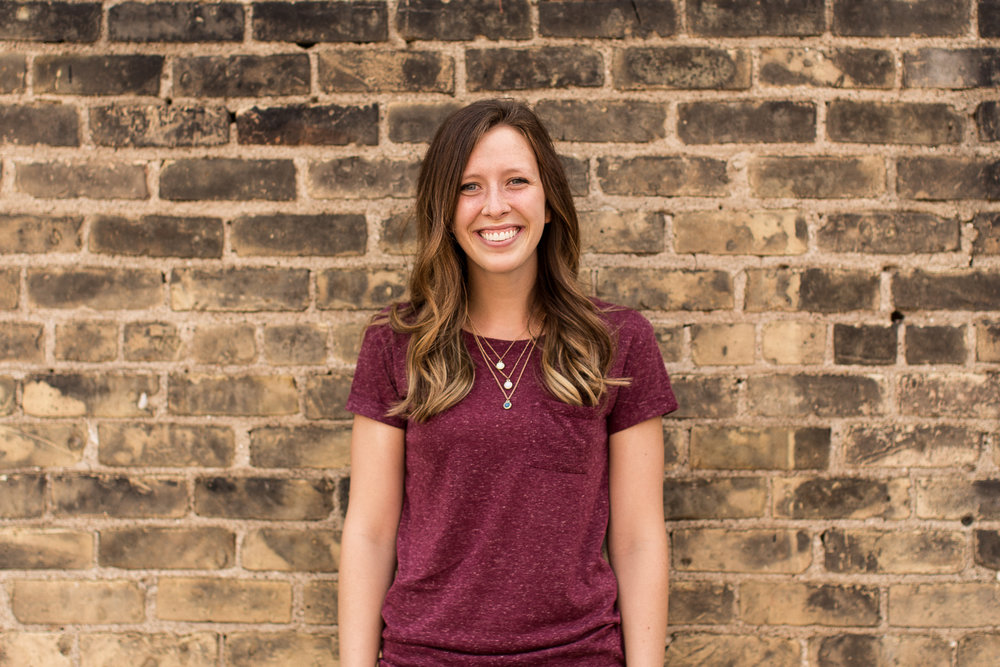 Kaylee Hunting - MINISTRY LEADERkayleeallyson@gmail.comUndergraduate Degree: Elementary Education, MA in Theological StudiesFavorite Food: Ice CreamTop 2 Books: Unbroken by Laura Hillenbrand, The Hiding Place by Corrie Ten BoomFor fun: Camping, backpacking, and making yummy food