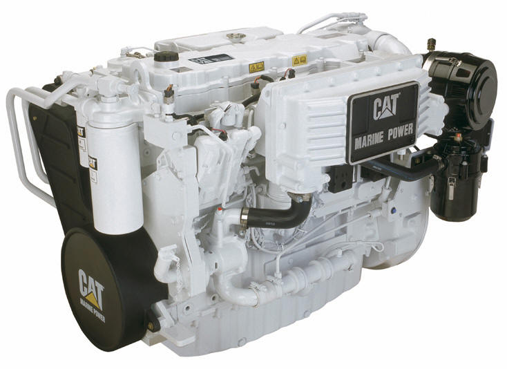 The Caterpillar C-9 Marine Diesel Engine