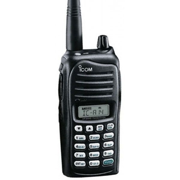 The popular Icom A14 is an aviation transceiver that costs only about $225. Many pilots find it easily transmits over 10 miles. Imagine how it might come in handy in an emergency.