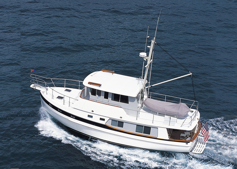 The Kadey-Krogen 48 Whaleback has ample livable space for truly living aboard in absolute comfort. No wonder it is a popular choice.