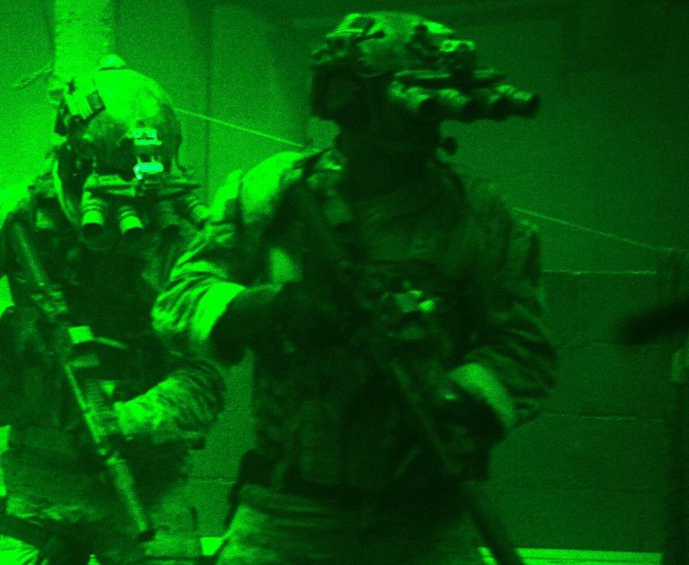 We've all seen images of our special forces using night vision in their clandestine activities.