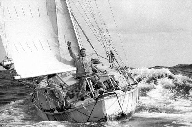 Robin Knox-Johnson, one of the most accomplished sailors of all time.