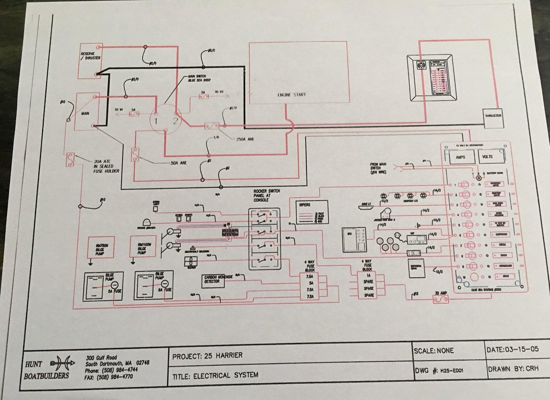 Monday Minute The Discipline Of A Wiring Diagram Followingseas Bilge Pump Schematic
