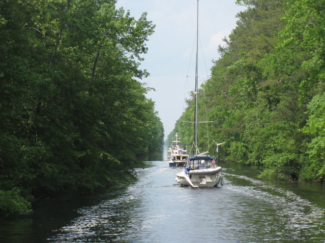 Dismal or not, this cruise through the Dismal Swamp Canal is unique and well worth the time.