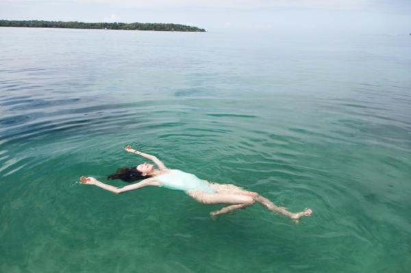 woman-trusting-herself-floating-in-water