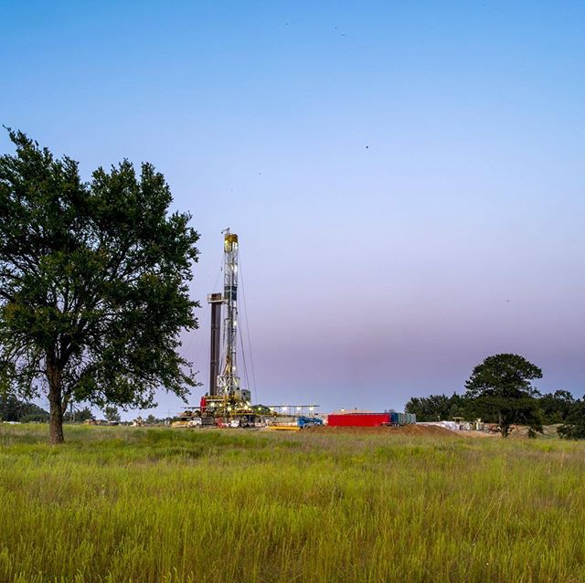 Friday's from the field - We hope everyone has a safe and happy holiday weekend! 🐣 🐰 #Exploration #OklahomaEnergy #ArkomaBasin #Holdenville #Drilling #TulsaDrillers
